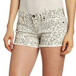 Lucky Brand Riley leopard animal print shorts